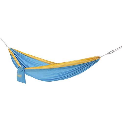 WYH Hammock Hamaca Swing Bed Single Double Camping Hamacas Cama Portátil para Viajes Playa Jardín Patio Columpio