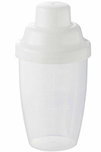 メトリックス(Metrics)シェーカーボトルクリア小さめサイズ200ml(50ml100ml150ml目盛り付き)日本製es