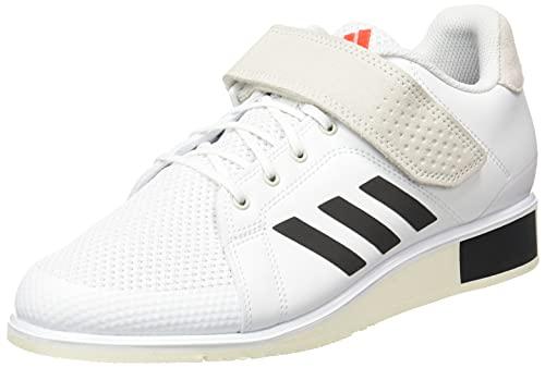 adidas Power III, Zapatillas de Running Hombre, FTWBLA/NEGBÁS/Rojsol, 43 1/3 EU