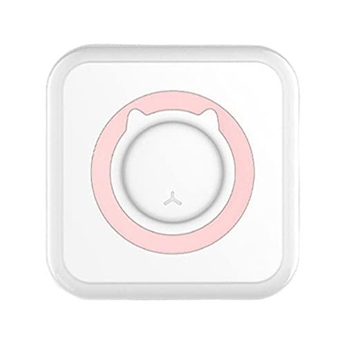 prasku Portable Intelligent Imprimante Photo, Mini Imprimante Thermique Bluetooth Étiquette Réception Autocollant Imprimante Smartphone Imprimante pour iOS - Rose