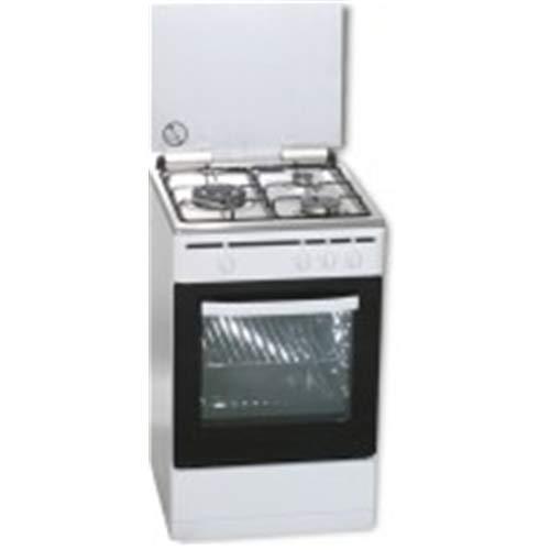 ROMMER VCH 355 FG - Cocina (Cocina independiente, Blanco, Giratorio, Blanco, Frente, Fondo)