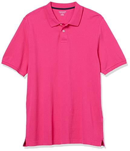 Amazon Essentials Herren Poloshirt, hot pink, L (52)