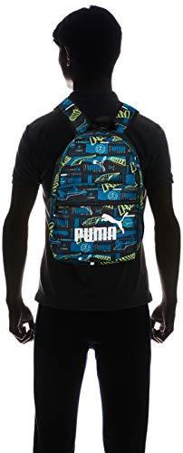 PUMA Kids Phase Small Backpack, Digi-Blue-Boys Aop, OSFA ,75488