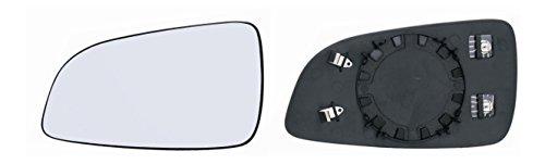 DAPA 1110906 Spiegelglas Links Fahrerseite beheizt asphärisch passend für Ihren Original Außenspiegel