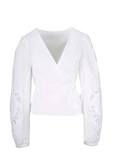 Luxury Fashion | P.a.r.o.s.h. Dames D311101Z001 Wit Katoen Blouses | Lente-zomer 20