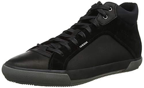 Geox U KAVEN C, Zapatillas Altas Hombre, Negro Black