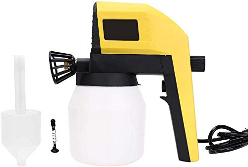 EDMBG Electric Paint Spray Gun 100W, 1000ml for Auto Home Appliance Woodworking - DIY