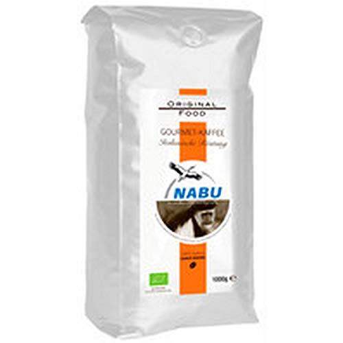 NABU Kaffee - Gourmet Kaffee italienische Röstung, ganze Bohne, 1 kg