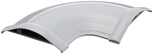 エレコム LD-GAシリーズ用接続 平面曲リ・グレー LD-GAM47/LG×5個 ELECOM