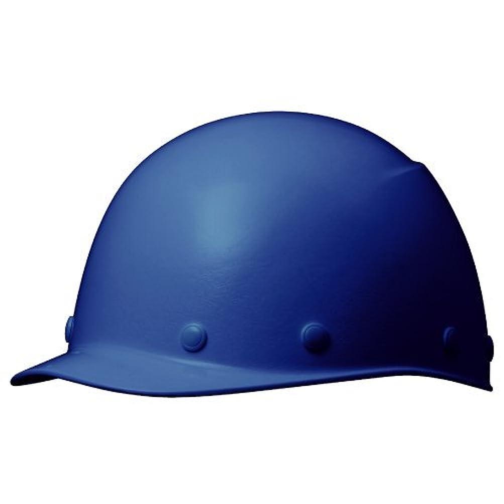 犯人警告するセンターミドリ安全 ヘルメット 野球帽型 一般作業用 熱場作業用 SC9F RA KP付 ブルー