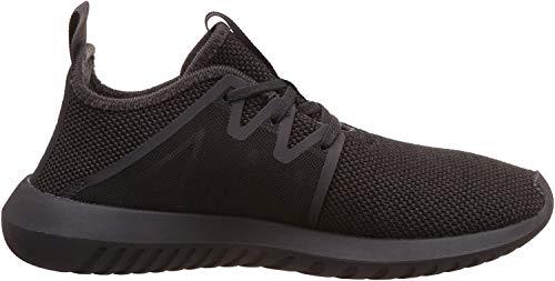 adidas Damen Tubular Viral2 W Fitnessschuhe, schwarz (Neguti/Neguti/Negbas), 37 1/3 EU