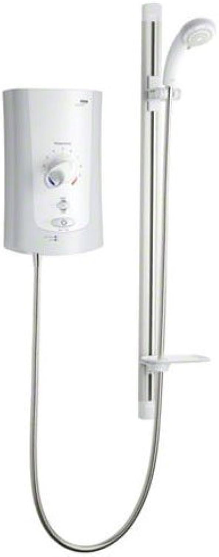 Mira 1.1759.003wei chrom Advance Flex 9.0kW elektrische Dusche für