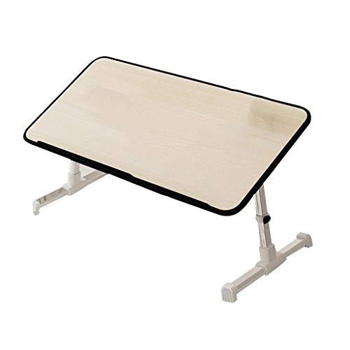 HJCA Klaptafel, inklapbaar, grote tafel voor laptop, klaptafel, beddienblad, bodemplaat voor thuis, bijzettafel voor bank, speeltafel, laptophouder