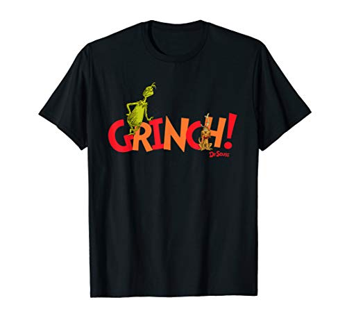 Dr. Seuss Grinch! with Max T-shirt