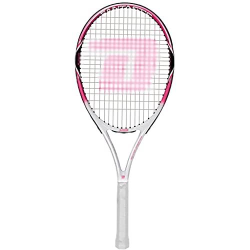 ラケット 初心者に適したピンクのライトラケット専用のレディース初心者テニスラケットスーツ使いやすいスポーツテニスラケット (Color : Pink, Size : 68.5cm)