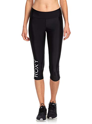 Roxy Brave for you-leggings, kort, voor dames, sport, fitness, yoga, hardlopen
