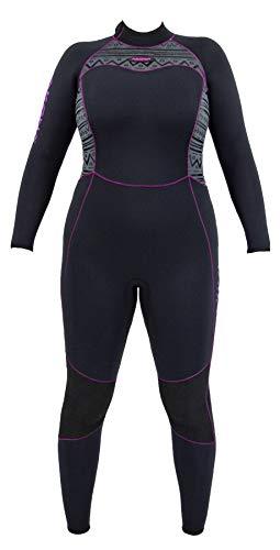 AKONA Women's 3mm Full Suit. Quantum Stretch...