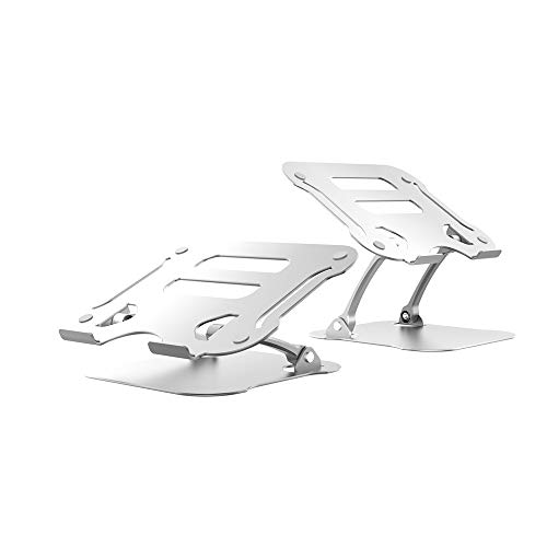 CKR Laptop Stand, Laptop Stand, Multi-Angle Stand with Cooling Holes, Adjustable Laptop Stand, Maximum Support 17 Inches
