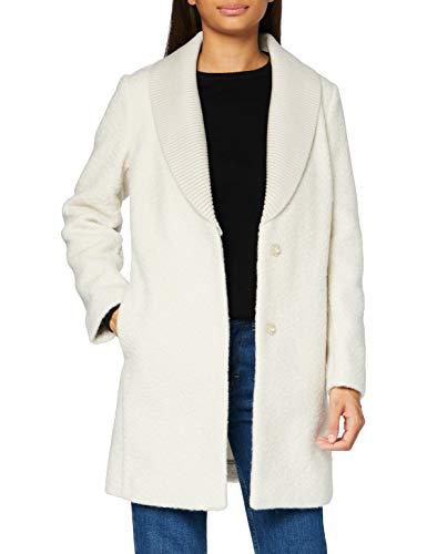 Sisley Damen Regular Mantel COAT, Rainy Day 38q, 42 (Herstellergröße: 16)