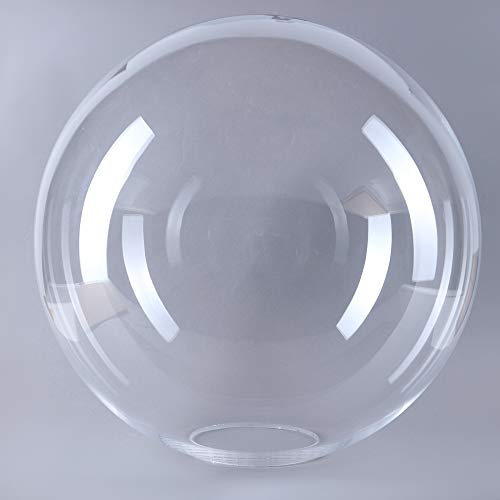 Cristal esférico de 400 mm de diámetro transparente de repuesto para lámpara E27