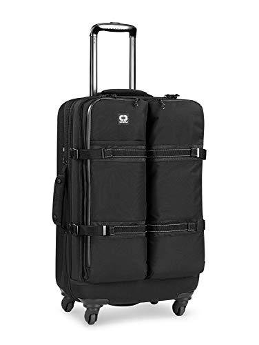 OGIO ALPHA Convoy 4-Wheel Spinner Large Travel Bag, Black