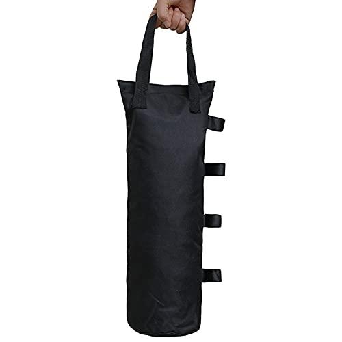 YFCTLM Pesos de Gazebo Outdoor Garden Weight Shelter Canopy Sunshade Fijación Pierna Pierna Bolsa de Arena.
