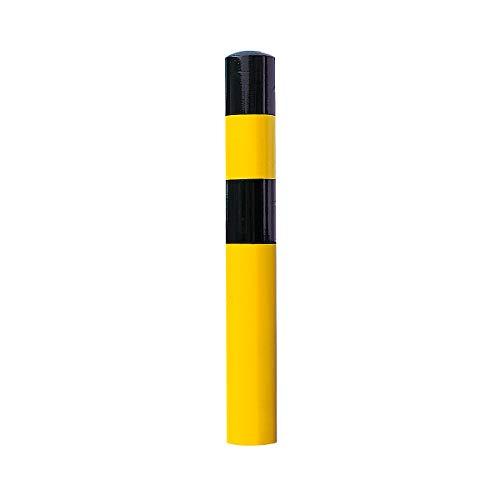 MORAVIA Rammschutz-Poller - Größe XL, schwarz/gelb - zum Einbetonieren - Poller Poller als Rammschutz Rammschutz Rammschutzelement Rammschutzelemente Rammschutzpoller