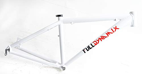 Full Dynamix 26' Aluminum 16' Hardtail Mountain Bike Frame Disc White New