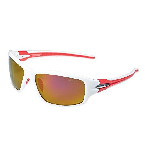 SINNER Sport Sonnenbrille für Herren und Damen Mehrere Farben - Verspiegelt mit 100{74e764172f9b9a35e142b292cafe97aae35ceeb046ebb5f90016fe691f2f4129} UV400 Schutz, Polarisiert & Nicht Polarisiert - Fahrradbrille, Radbrille & Sportbrille für Outdoor