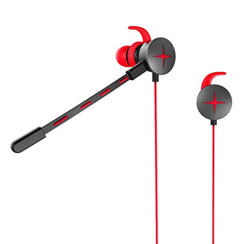 V7 In-Ear-Kopfhörer (3,5 mm Klinkenstecker, verstellbares Mikrofon, für Gamer, Telefon, PC, Laptop)