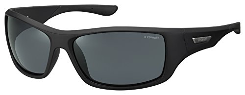 Polaroid PLD 7013/S M9 gafas de sol, Negro (Black/Grey Pz), 63 para...