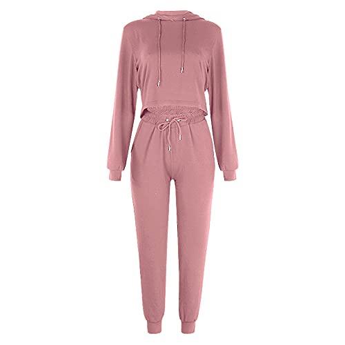 PRJN Conjuntos de Pijamas para Mujer, 2 Blusas y Pantalones de Manga Larga, Ropa de Dormir para Damas, Pijamas, Conjuntos de Pijamas para Mujeres, Conjuntos de Pijamas para Mujeres, Ropa de Dormir