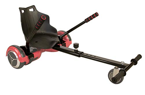 Airel Hoverkart   No Incluye Hoverboard   Hoverkart Metal   Hoverboard Asiento Kart   Hoverkart Asiento Kart   Medidas: 55x47x20 cm