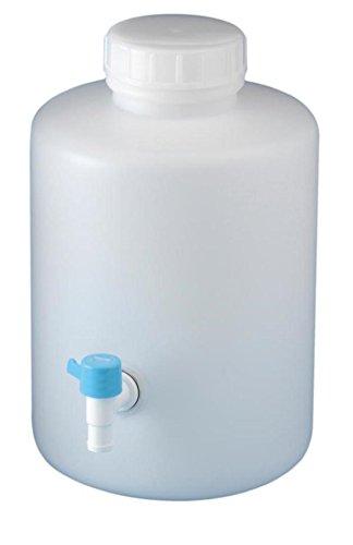 ニッコー・ハンセン レバーコック付瓶 石灰水採水瓶 20L