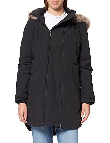 Noppies Jacket 2-Way Malin Chaqueta, Black-P090, 46 para Mujer