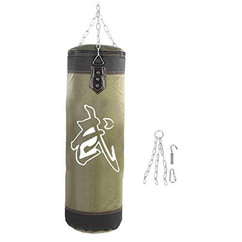 XHLLX Bolsas de Huelga Rojas/Verdes Bolsas de Arena de sandbag de Arena de sandbag de Ganchillo Colgando Karate Punch Punch