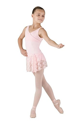 Bloch Ballettrock aus Spitze CR9031 Candy Pink 12-14