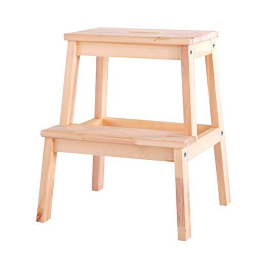 ZHJBD Furniture Stool/meubelset voor kinderen, handtrappen en 2 treeplanken, klassieke hulpmiddelen voor de keuken, voor stapelbedden en volwassenen