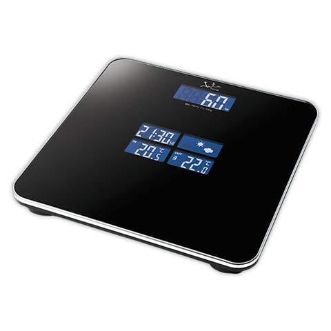 Bascula de baño JATA 530 | JATA Digital Analizador Fitness Est. Meteo