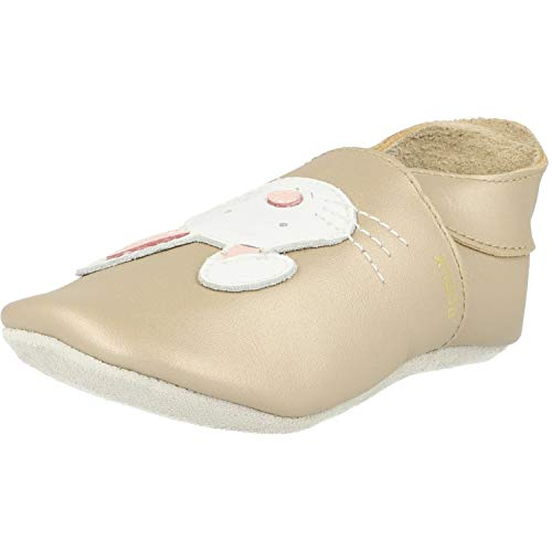 Bobux Soft Sole Rabbit Gold Leder 15-21 Monate
