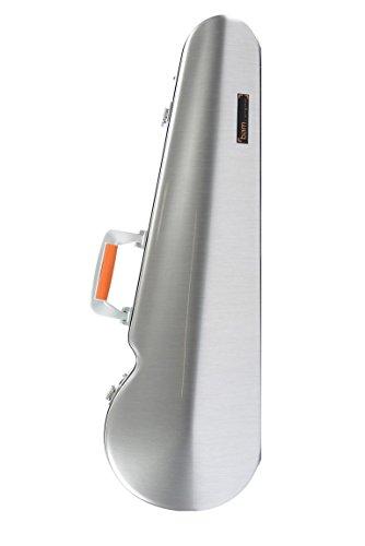 Bam Hightech La Defense Contoured Violin Case - Brushed Aluminum - DEF2002XLA