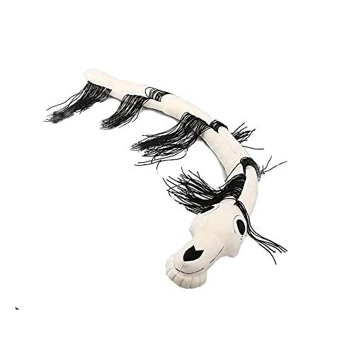Daiwen Long Horse Plüsch Siren Head Plüschtier, Kuscheltiere für Jungen Mädchen Halloween Dekorationen Indoor Cartoon Puppe