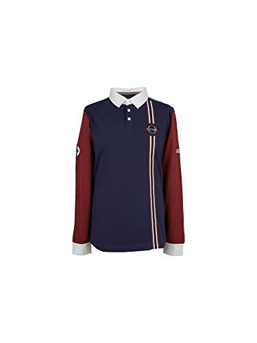 Jaguar Herren Heritage Rugby-Shirt L Navy