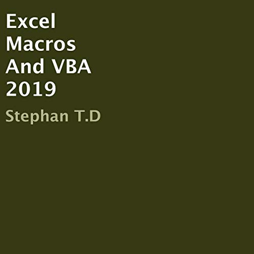 Excel Macros And VBA 2019 cover art