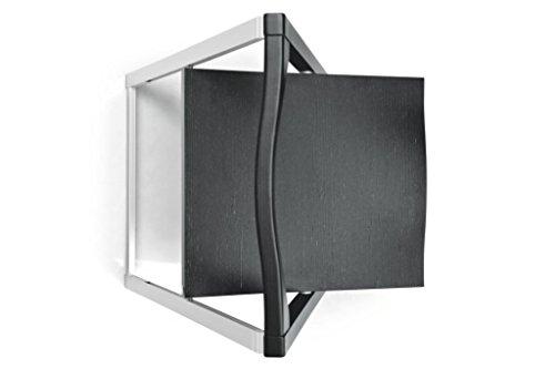 Calligaris SET 2 sedia SKIP CS/207per casa. Sedia Struttura in Metallo e Legno, pieghevole per casa, cucina e sala da pranzo (GRAFITE)