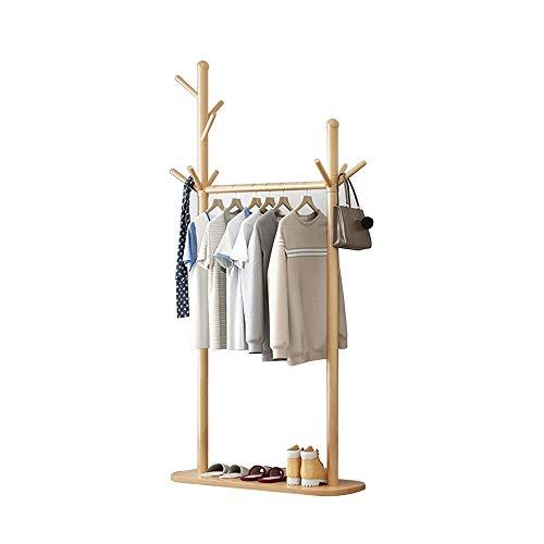 Perchero Feifei Burro Simples Habitación for Suelo de Hanger Venta de Ropa, Sombreros, Zapatos   4 Colores 78 × 30 × 178cm (Color : D)