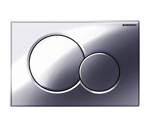 Geberit Duofix2 Plaque Chromée Chasse D'eau WC
