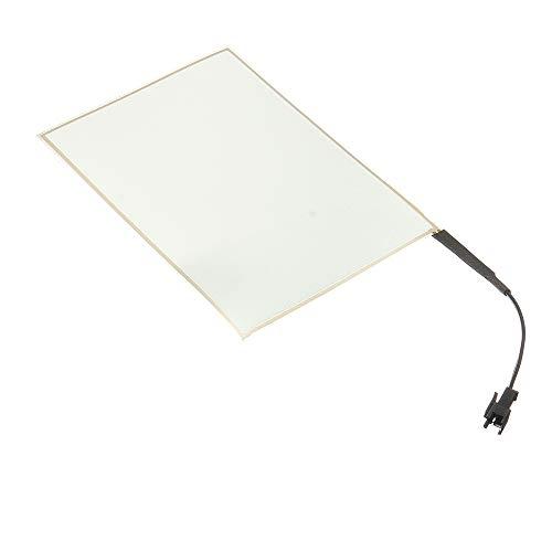 TOOGOO 105Mm X 148Mm EL Panel Elektro Lumineszenz Folie Neon Folie + Aktor 12V Weiss