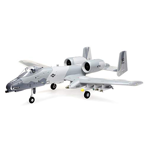 E-flite RC Airplane A-10 Thunderbolt II 64mm EDF PNP (Transmitter, Receiver, Battery and Charger not Included), EFL01175