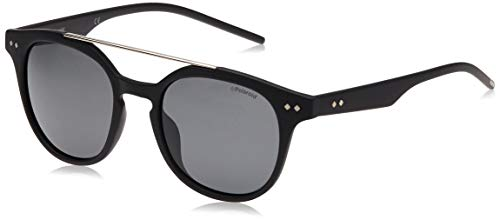 Polaroid PLD 1023/S Y2 DL5 51 gafas de sol, Negro (Matt Black/Grey Pz), Unisex-Adulto